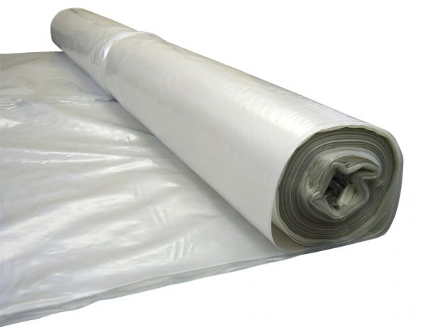 Protective Sheeting - Clear Polythene 4m x 25m 60MU/240 Gauge